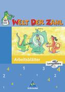 Welt der Zahl 4. Arbeitsheft mit CD-ROM. Berlin, Brandenburg, Mecklenburg,-Vorpommern