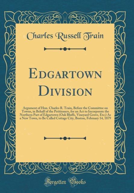 Edgartown Division als Buch von Charles Russell...