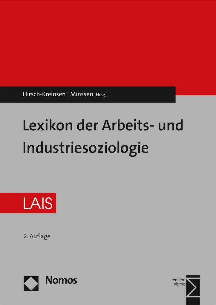 Lexikon der Arbeits- und Industriesoziologie al...