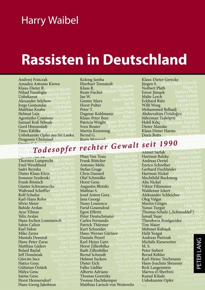 Rassisten in Deutschland als eBook