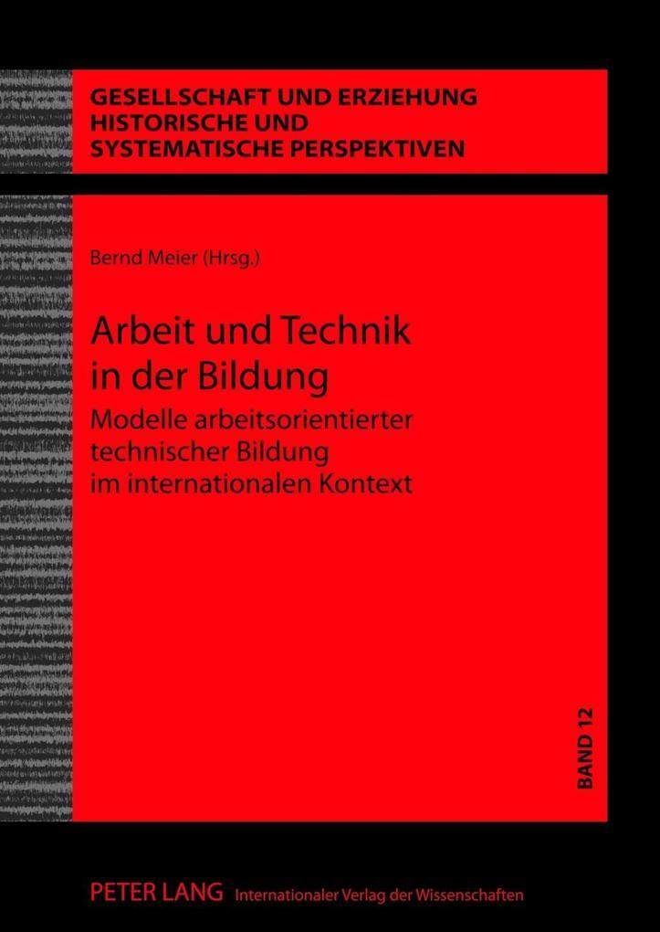 Arbeit und Technik in der Bildung als eBook Dow...