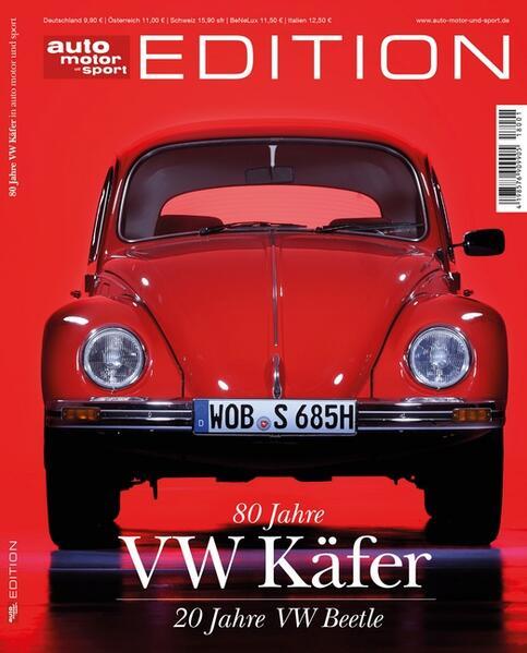 auto motor und sport Edition - 80 Jahre VW Käfe...