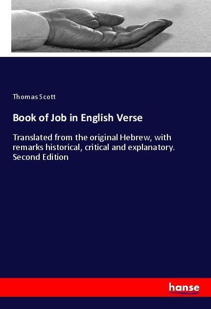 Book of Job in English Verse als Buch von Thoma...