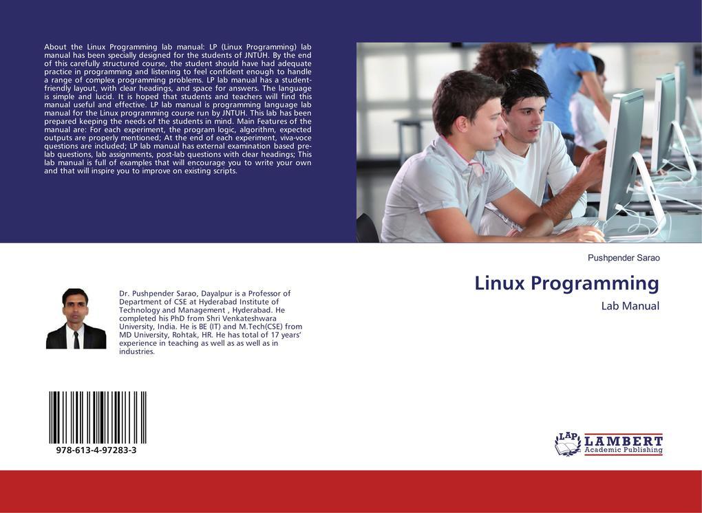 Linux Programming als Buch von Pushpender Sarao