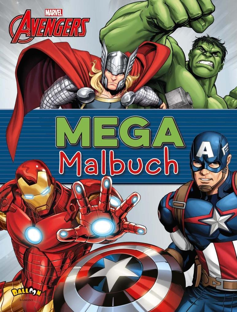 The Avengers - Mega-Malbuch (Buch)