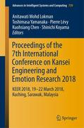 Proceedings of the 7th International Conference on Kansei Engineering and Emotion Research 2018