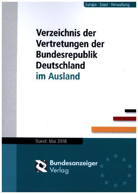 Verzeichnis der Vertretungen der Bundesrepublik...