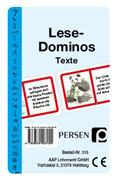 Lese-Dominos / Texte