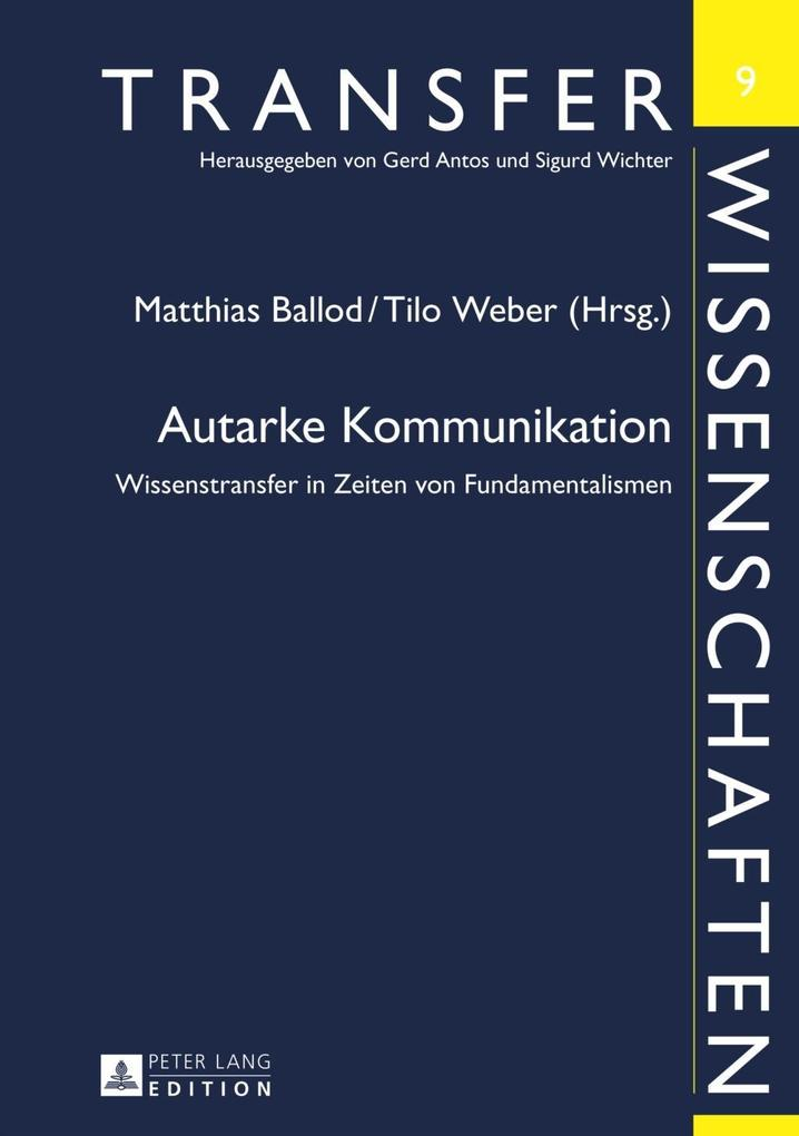Autarke Kommunikation als eBook Download von