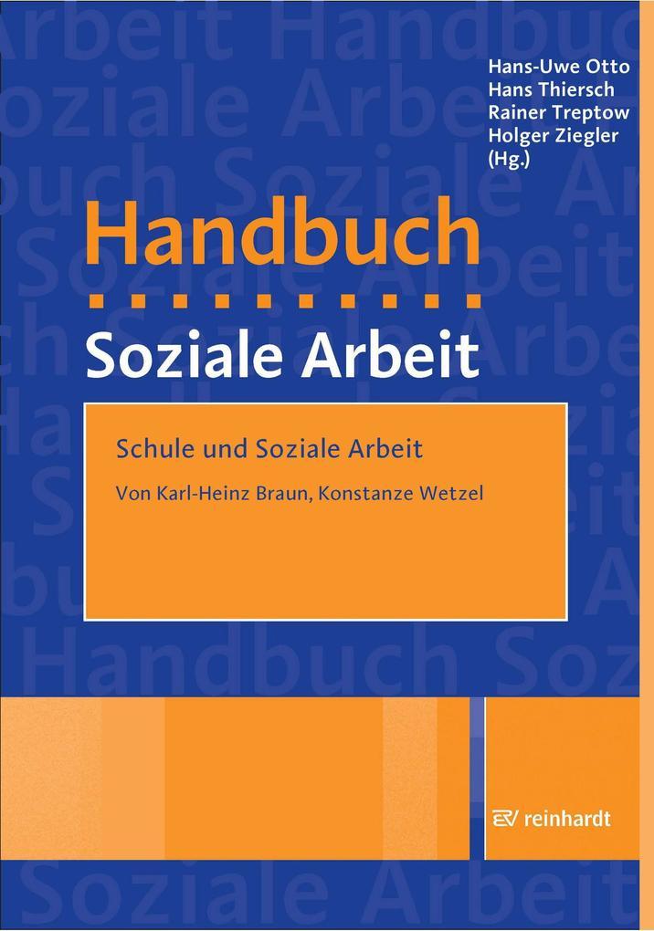 Schule und Soziale Arbeit als eBook Download vo...