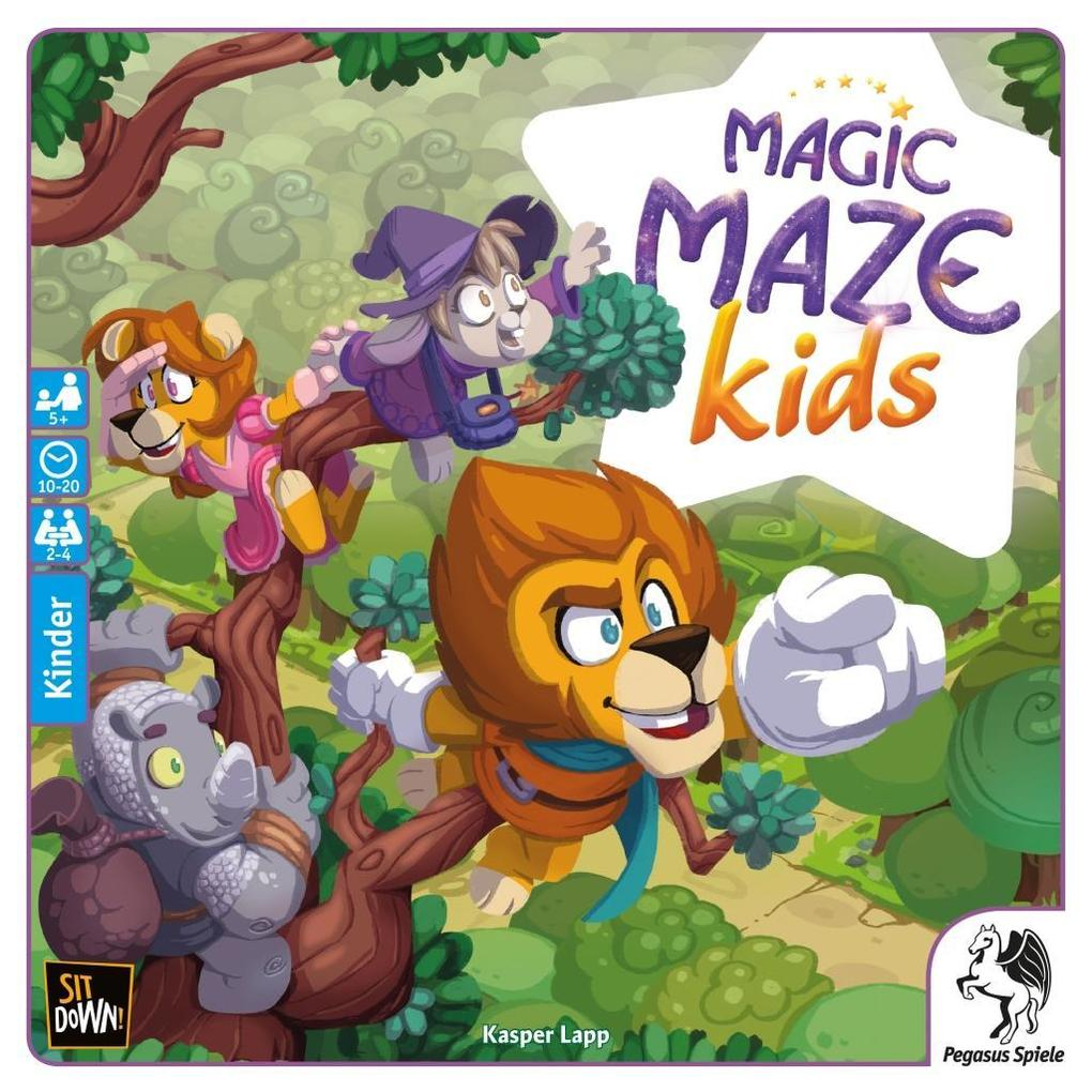 Pegasus - Magic Maze Kids als sonstige Artikel