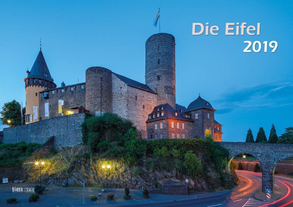 Eifel 2019 Wandkalender A3