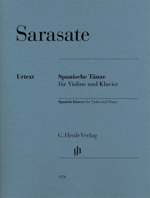 Spanische Tänze für Violine und Klavier, Urtext...