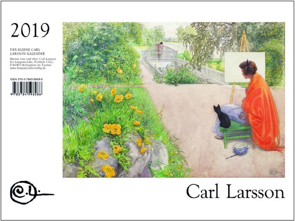 Der Kleine Carl Larsson-Kalender 2019