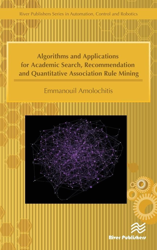 Algorithms and Applications for Academic Search...