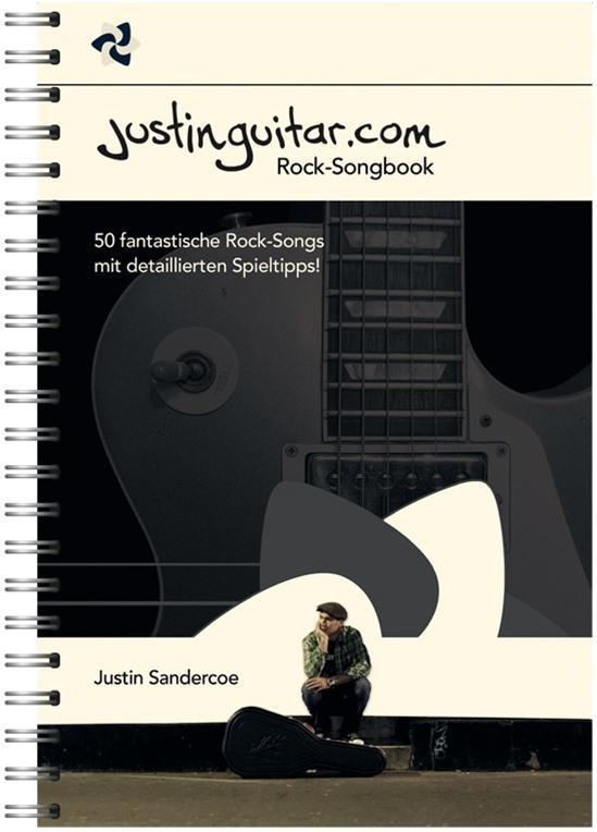 Justinguitar.com Rock-Songbook (Deutsche Version) als Buch