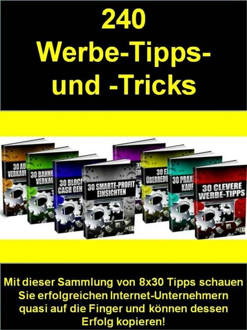 240 Werbe-Tipps- und -Tricks als eBook Download...