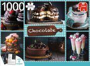 Schokolade MIT REZEPTEN - 1000 Teile Puzzle