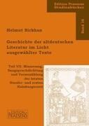 Geschichte der altdeutschen Literatur im Licht ausgewählter Texte 7