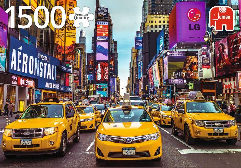 New York Taxis - 1500 Teile Puzzle als sonstige Artikel