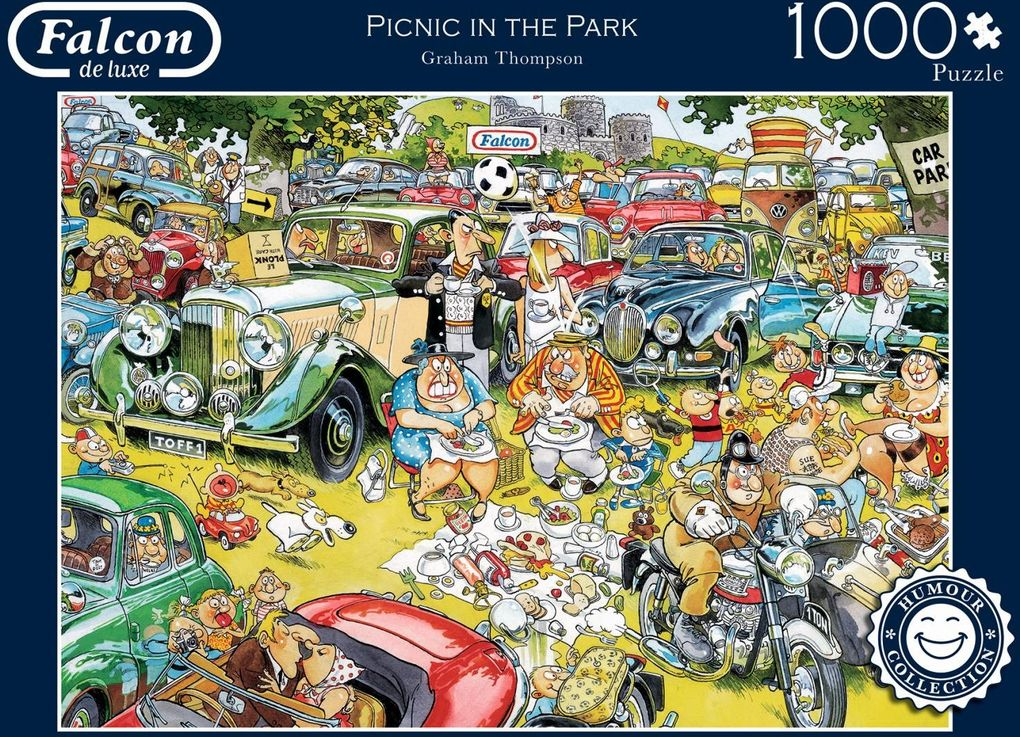 Picnic in the Park - 1000 Teile Puzzle
