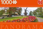 Keukenhof Niederlande - 1000 Teile Panorama Puzzle