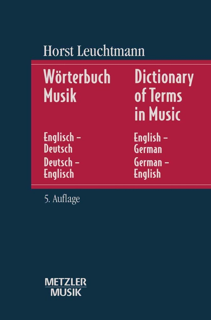 Wörterbuch Musik als eBook Download von Horst L...