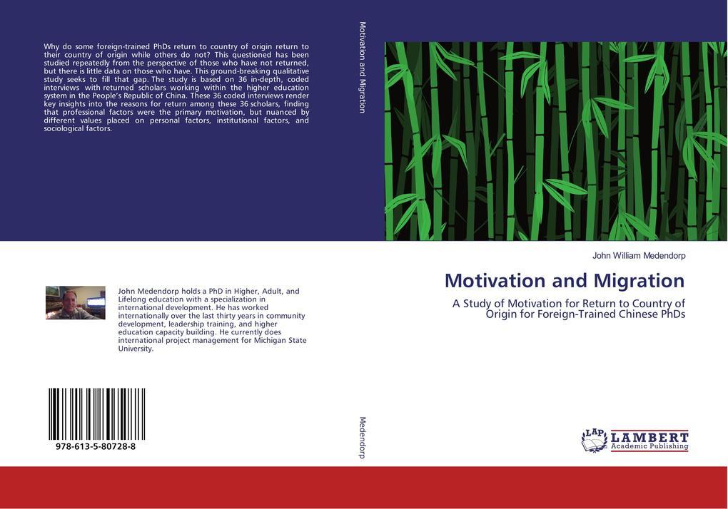 Motivation and Migration als Buch von John Will...