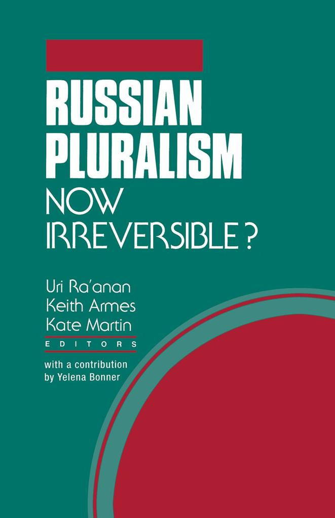 Russian Pluralism als eBook Download von