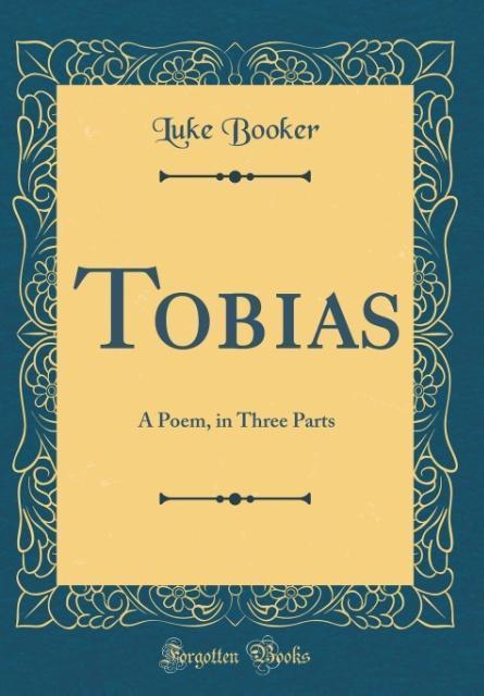 Tobias als Buch von Luke Booker