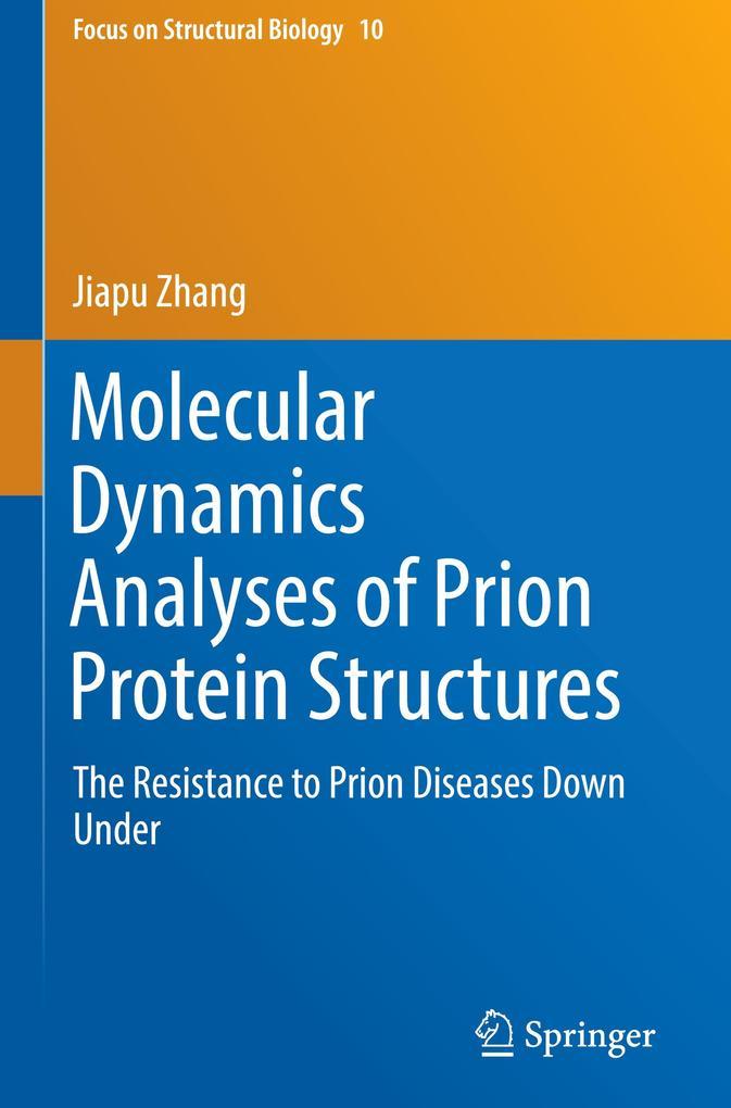 Molecular Dynamics Analyses of Prion Protein Structures als Buch (gebunden)