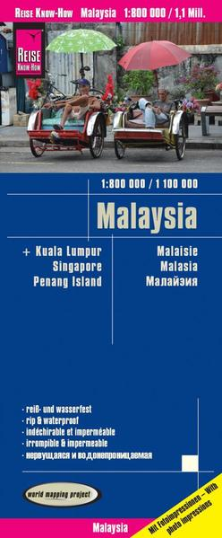 Malaysia (West 1:800.000 / Ost 1:1.100.000) als...
