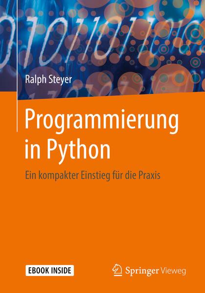 Programmierung in Python als Buch von Ralph Steyer