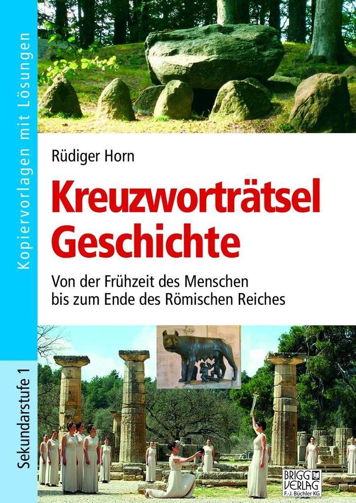 Kreuzworträtsel Geschichte als Buch von Rüdiger...