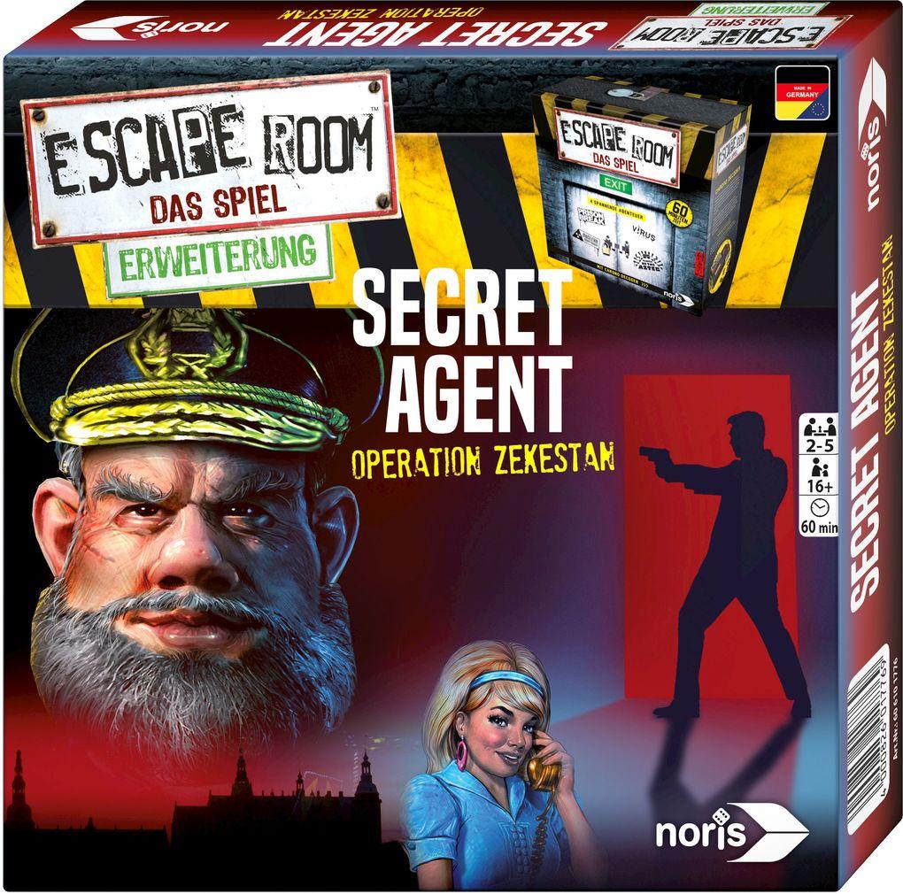 Escape Room Secret Agent als sonstige Artikel