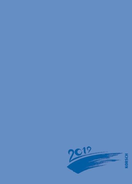 Foto-Malen-Basteln 2019 blau mit Folienprägung,...