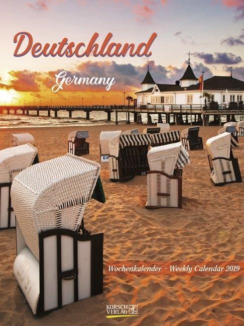 Deutschland 2019 Wochenkalender