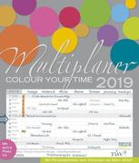 Multiplaner - Colour your time 2019