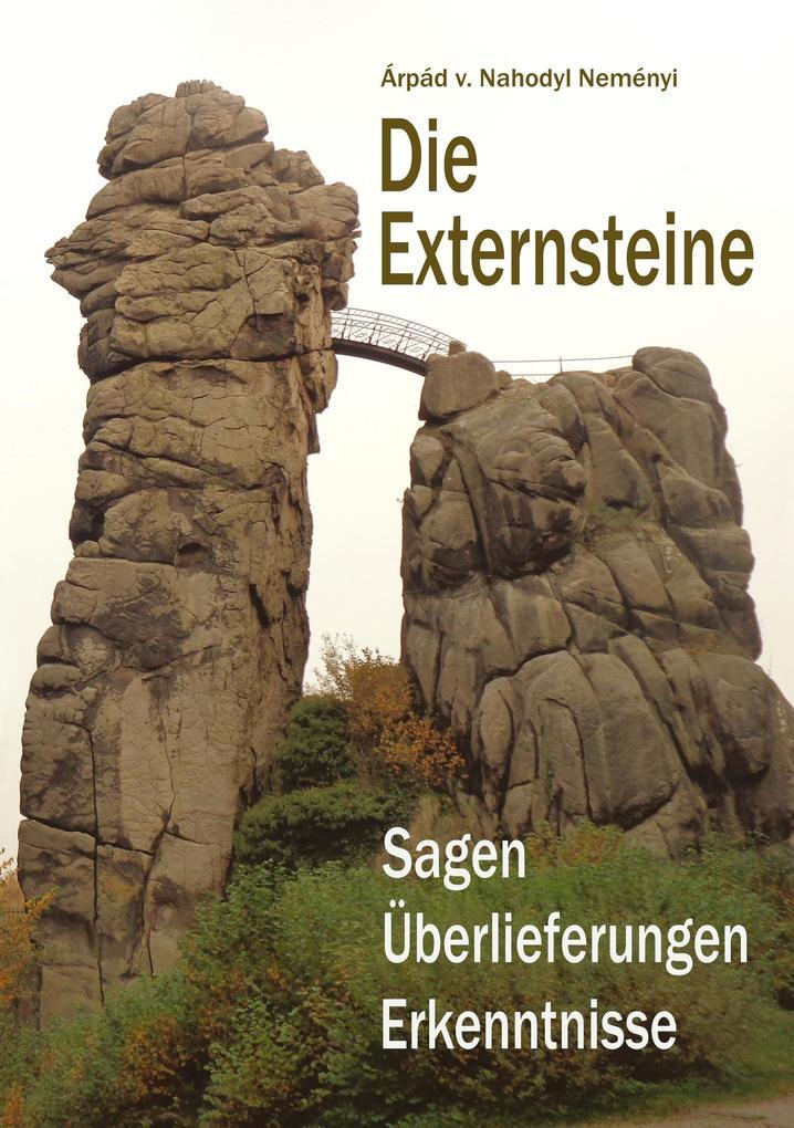 Die Externsteine als Buch von Árpád Baron von N...