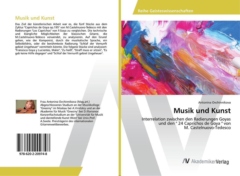 Musik und Kunst als Buch von Antonina Ovchinnikova