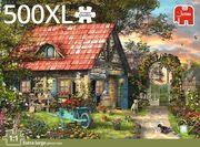 Jumbo Spiele - Premium Colleciton, Garden Shed - 500 XL Teile