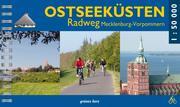Ostseeküsten-Radweg Mecklenburg-Vorpommern 1:50 000