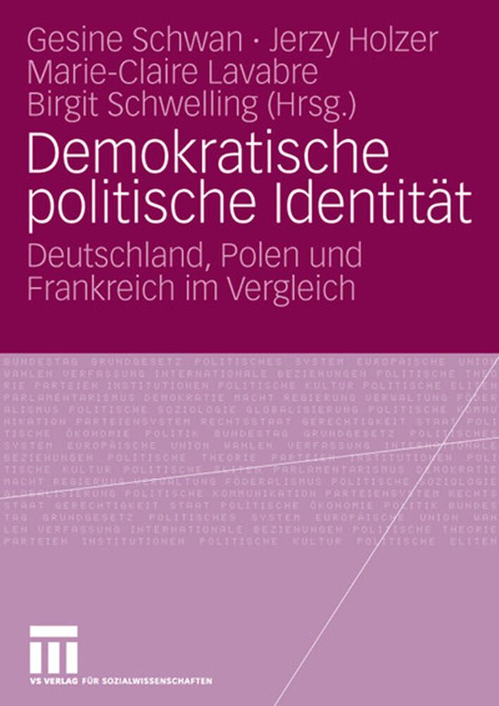 Demokratische politische Identität als Buch von