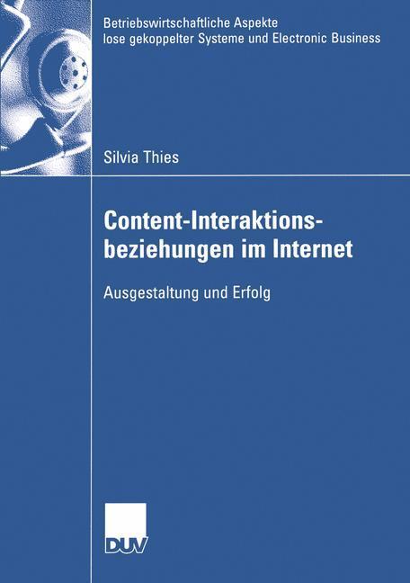 Content-Interaktionsbeziehungen im Internet als...