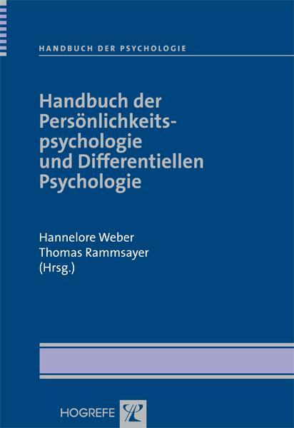 Handbuch der Persönlichkeitspsychologie und Dif...