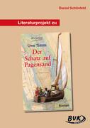 """Literaturprojekt """"Der Schatz auf dem Pagensand"""". Kopiervorlagen"""