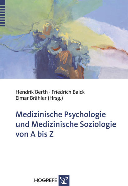 Medizinische Psychologie und medizinische Sozio...