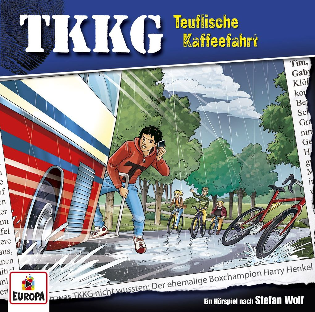 TKKG 205. Teuflische Kaffeefahrt. CD als Hörbuch