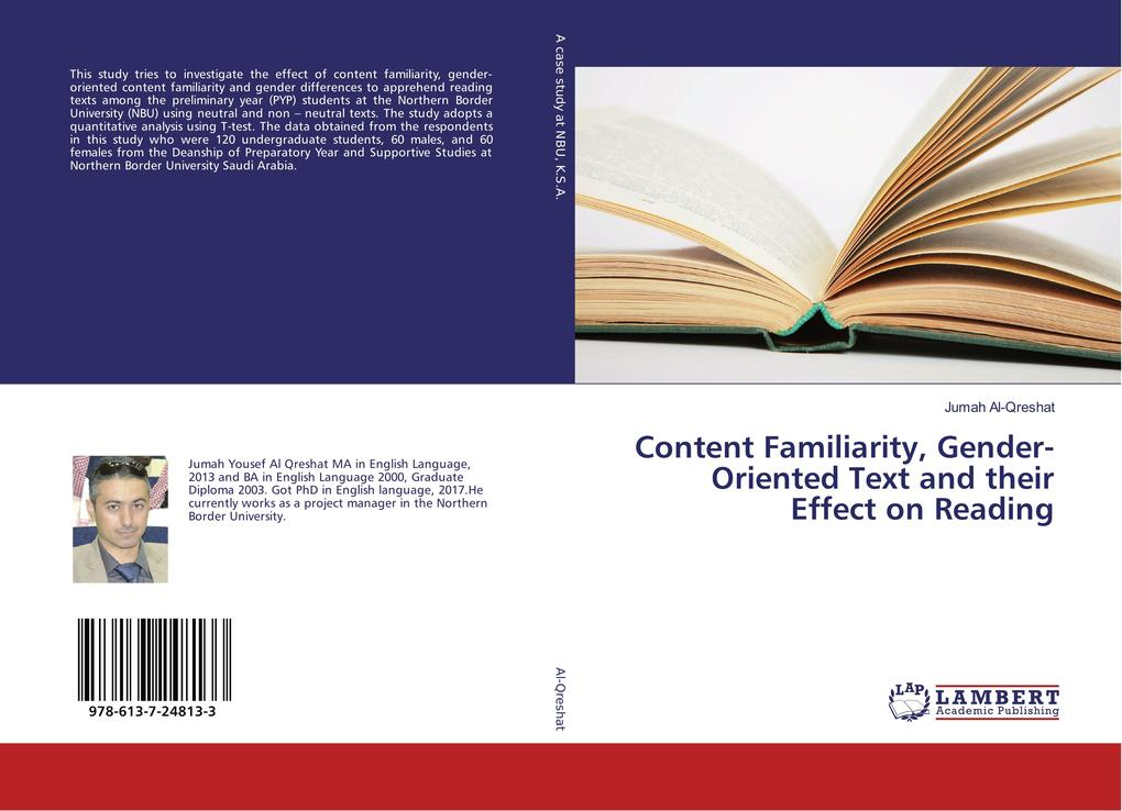 Content Familiarity, Gender-Oriented Text and t...