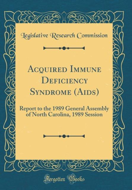 Acquired Immune Deficiency Syndrome (Aids) als ...